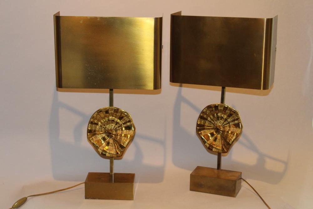 Maison charles paire de lampes antiquaire christophe for Antiquaire lille meuble